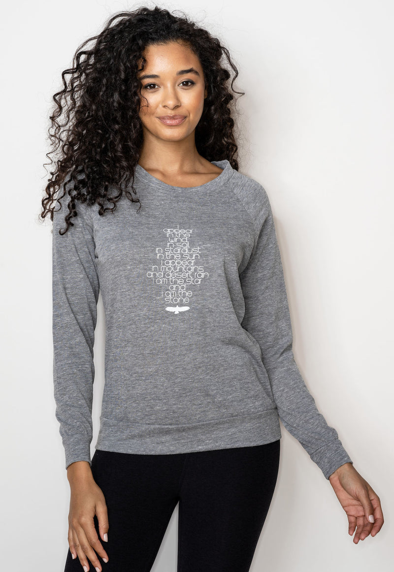 'I Appear' Lightweight Sweatshirt