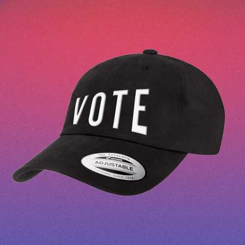 'VOTE' CLASSIC DAD HAT - PRICED TO MOVE!!