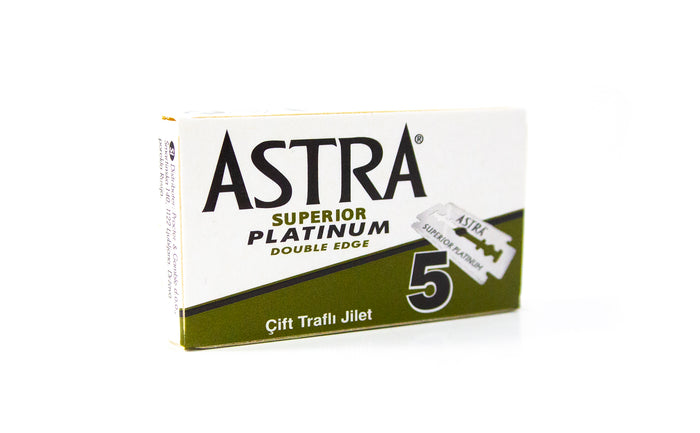 Astra Platinum Razor Blades (Pack of 5)