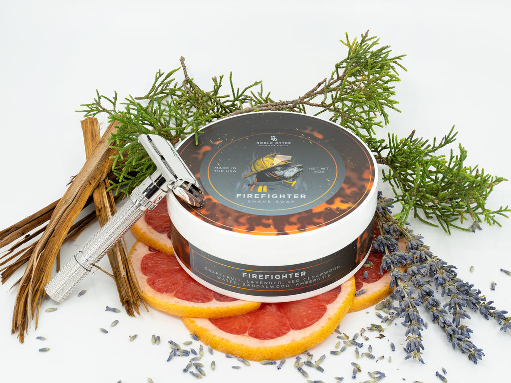 Firefighter Shaving Soap