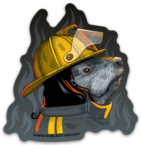 Firefighter Sticker