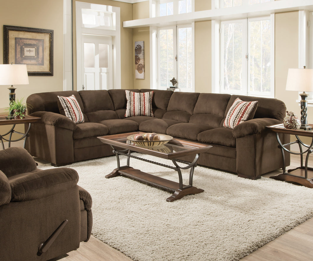 DOVER COFFEE SECTIONAL