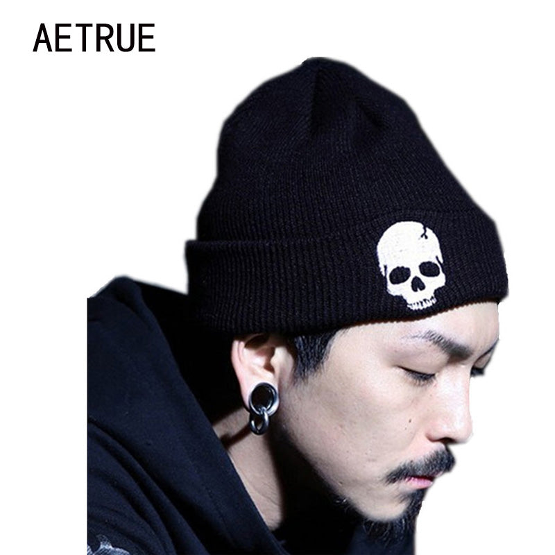 Winter Skull Beanies Men/Women Knit Caps