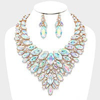 Crystal Evening Necklace Set