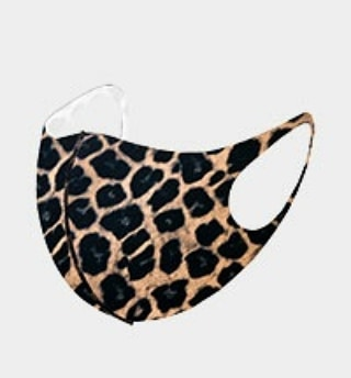 Leopard Cute and Comfy Mask