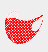Polka Dot Cute and Comfy Mask