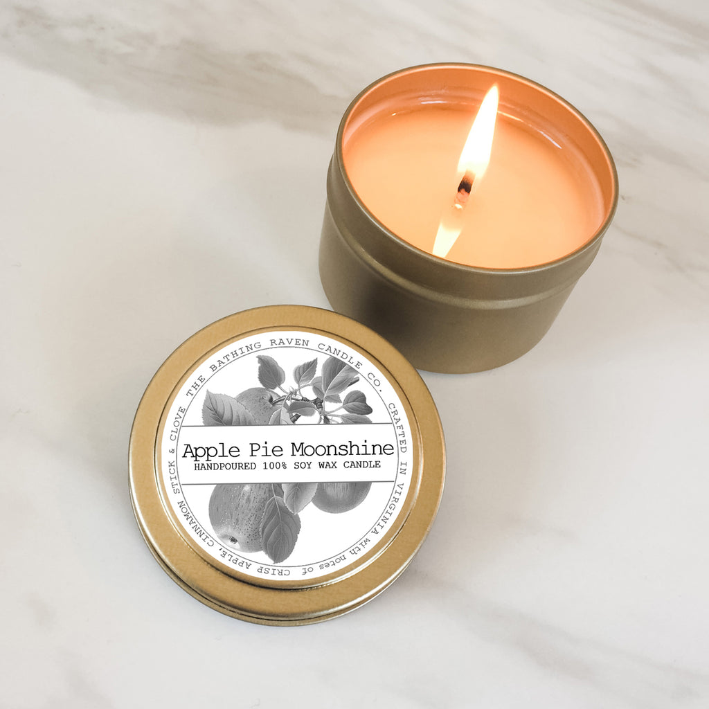 Apple Pie Moonshine | Petite Gold Collection Soy Candle