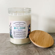 Blue Grass & Violet | 23oz Modern Apothecary Collection Soy Candle