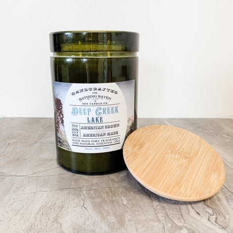 Deep Creek Lake | 23oz Modern Apothecary Collection Soy Candle