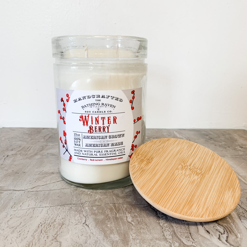 Winter Berry | 23oz Modern Apothecary Collection Soy Candle