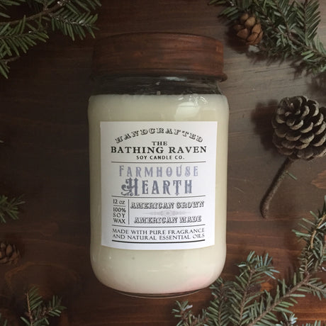 Farmhouse Hearth | Farmhouse Mason Collection Soy Candle
