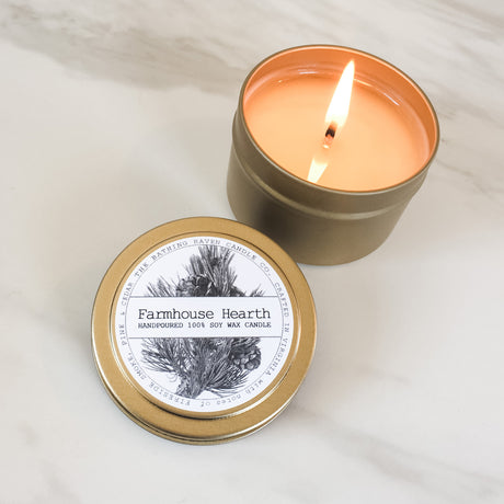 Farmhouse Hearth | Petite Gold Collection Soy Candle