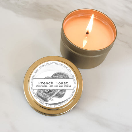 French Toast | Petite Gold Collection Soy Candle