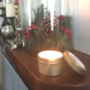 Sleigh Ride | Petite Gold Collection Soy Candle