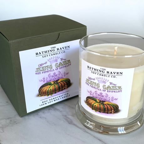 King Cake | New Orleans Collection Soy Candle