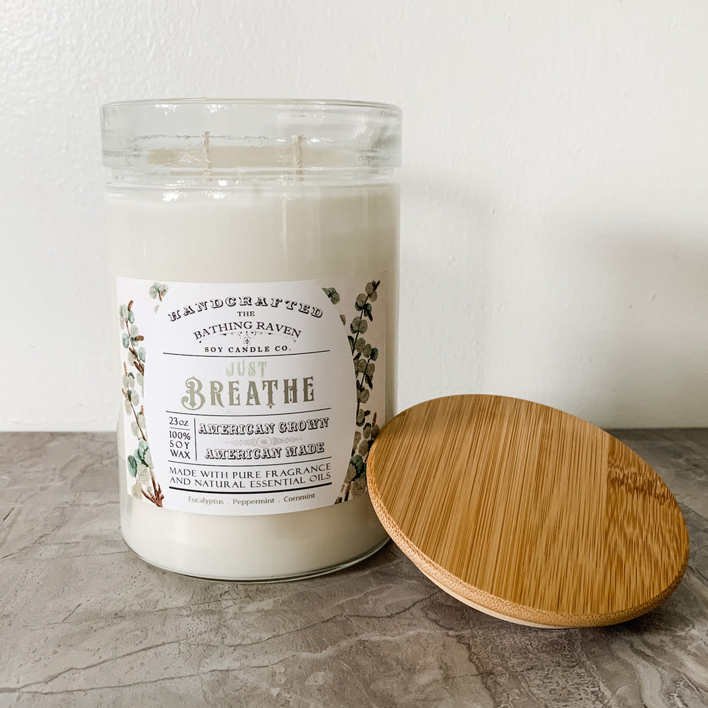 Just Breathe | 23oz Modern Apothecary Collection Soy Candle
