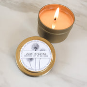 Just Breathe | Petite Gold Collection Soy Candle