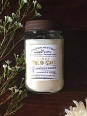 Lemon Poundcake | Farmhouse Mason Collection Soy Candle