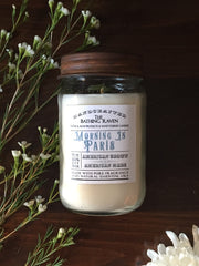 Morning In Paris | Farmhouse Mason Collection Soy Candle
