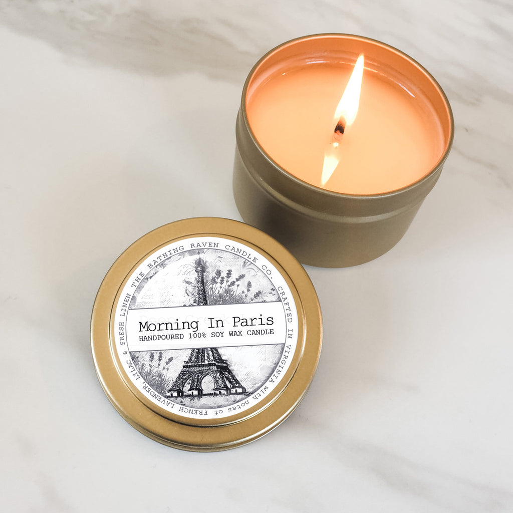 Morning In Paris | Petite Gold Collection Soy Candle