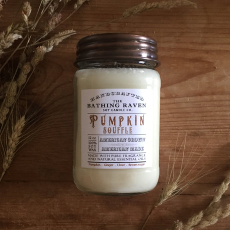 Pumpkin Souffle | Farmhouse Mason Collection Soy Candle