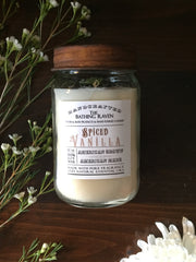 Spiced Vanilla | Farmhouse Mason Collection Soy Candle