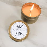 Spiced Vanilla | Petite Gold Collection Soy Candle