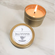 Tea & Controversy | Petite Gold Collection Soy Candle