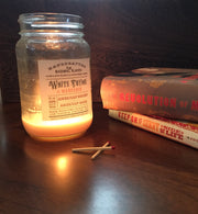 Tea & Controversy | Farmhouse Mason Collection Soy Candle