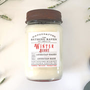 Winter Berry | Farmhouse Mason Collection Soy Candle