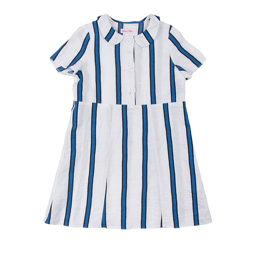 RitacoRita - Striped Blue Dress