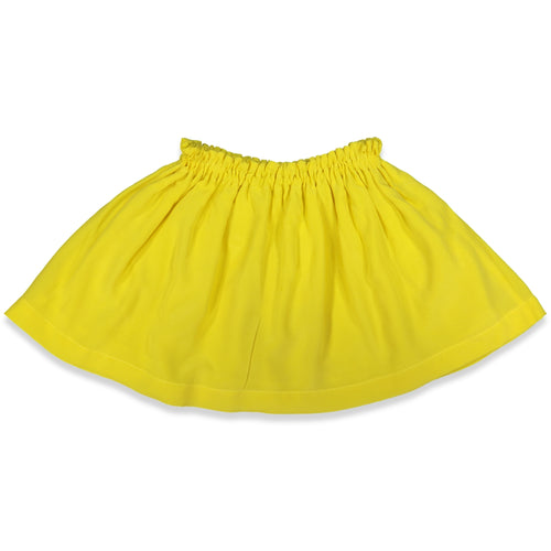 Anne Kurris - Crêpe Yellow Skirt