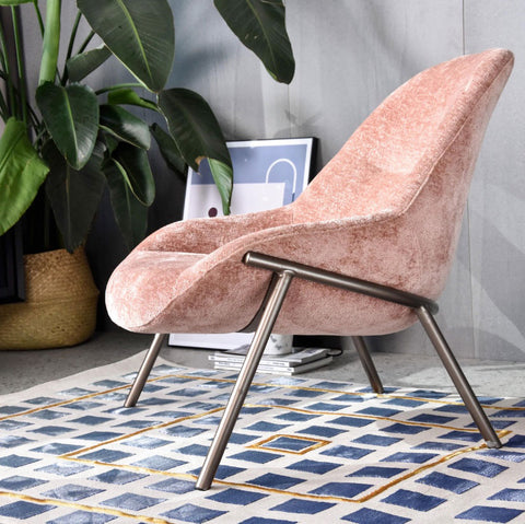 j&m home spring essentials pink chair