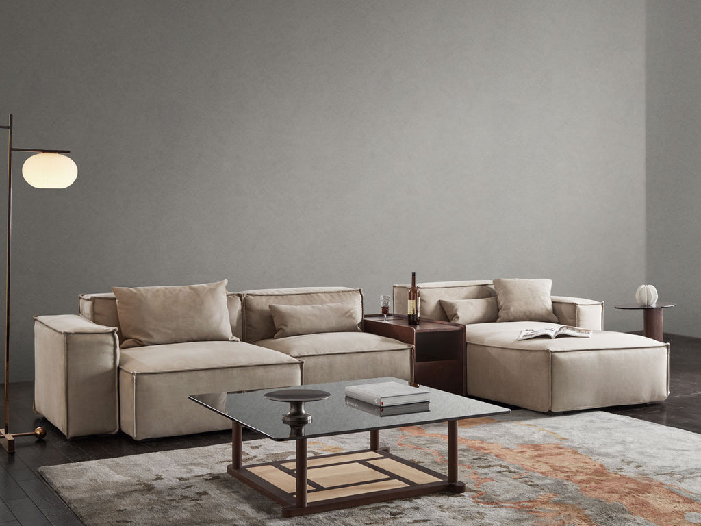 Cube Sectional Sofa (with table)