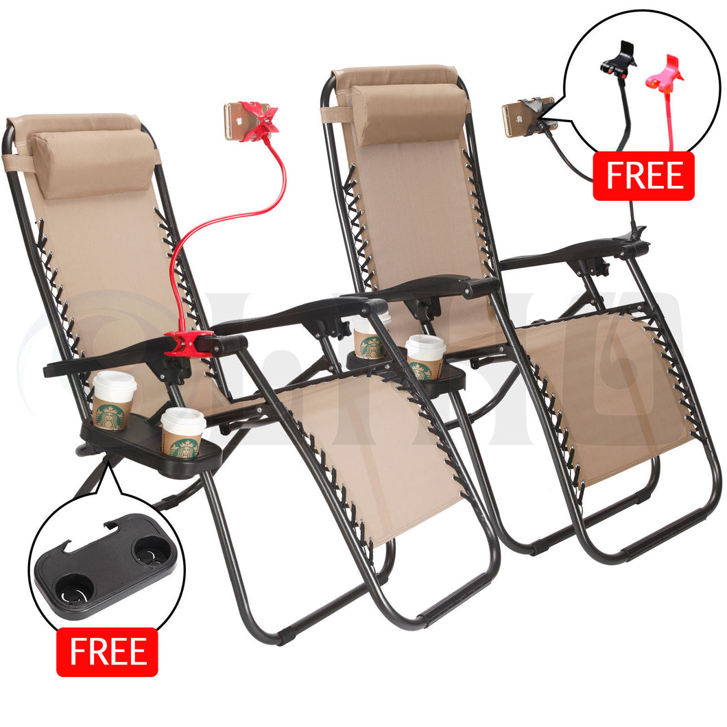 x2PCs Zero Gravity Chairs ™