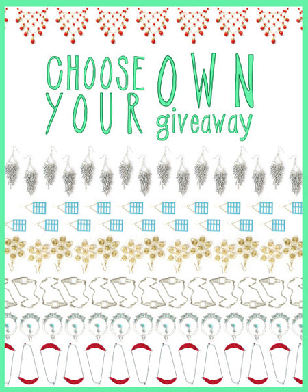 CHOOSE YOUR OWN (JEWELRY) GIVEAWAY