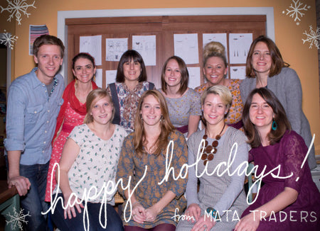 HAPPY HOLIDAYS FROM THE MATA TEAM!