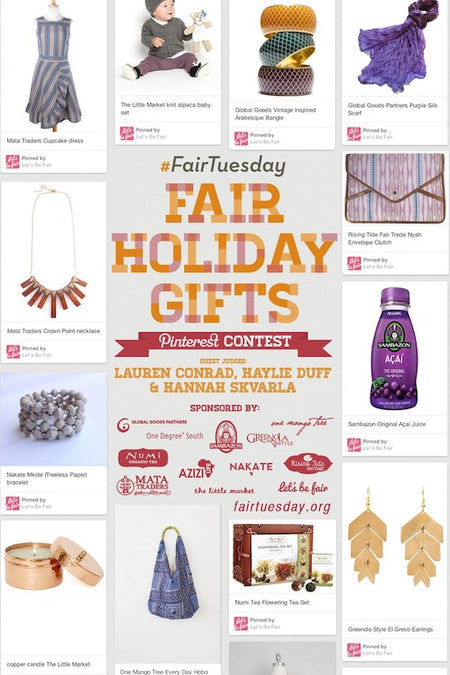 PIN TO WIN THE #FAIRTUESDAY PINTEREST CONTEST