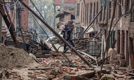 THE EARTHQUAKE IN NEPAL