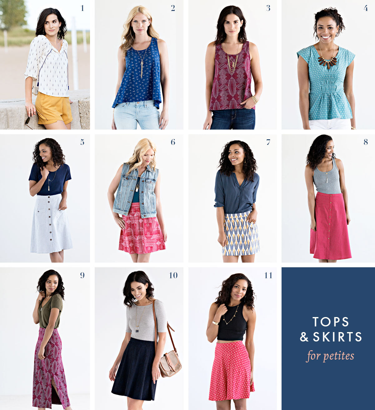 23 SPRING/SUMMER MATA STYLES FOR PETITES!