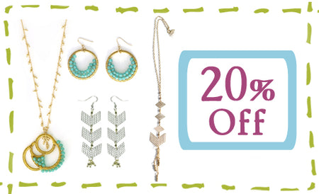 20% Off Jewelry Sets!