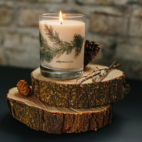The Special Edition Whitebark Pine candle by Bright Endeavors.