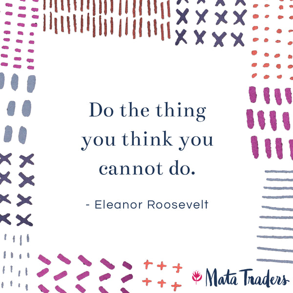 Eleanor Roosevelt Women Empowerment Quote