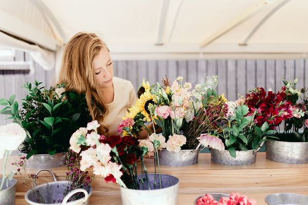 Floral Designer, Carolyn, of Youth and Yarrow