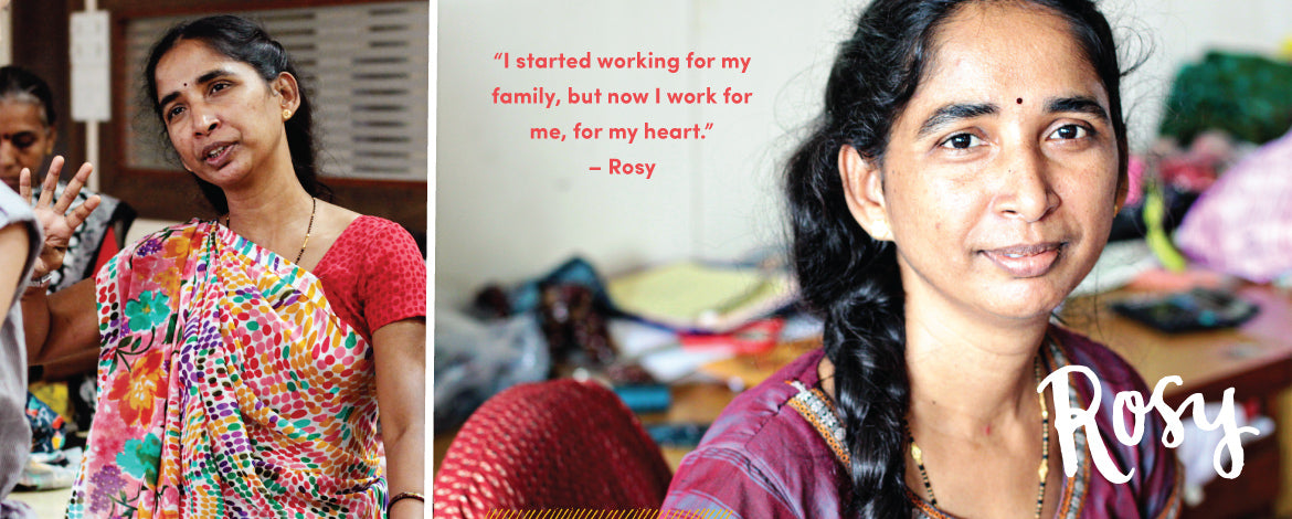 73ec1f87 Rosy is part of a large and vibrant family, but like many extended families  in India, hers had money problems. She and her husband always felt like  they ...