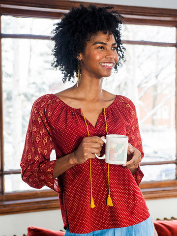 Tulum Tassel Top on our Fair Trade Holiday Wishlist