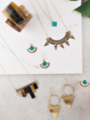 Surya Layered Necklace Turquoise