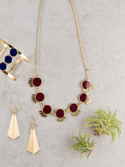 Verona Necklace Red