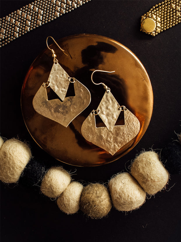 Moroccan Dreams Earrings Silver