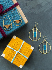 Amalfi Earrings Blue